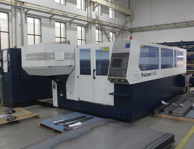 Germany TruLaser 3030 laser cutting machine