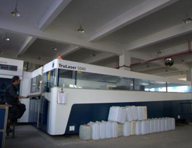 TruLaser 5040 laser cutting machine